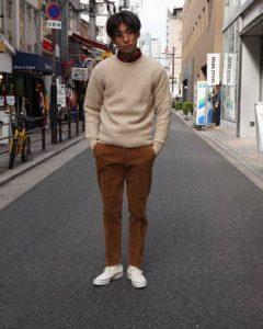 『WILLIAM LOCKIE』(ウイリアム ロッキー)【別注】カシミア クルーネック セーター