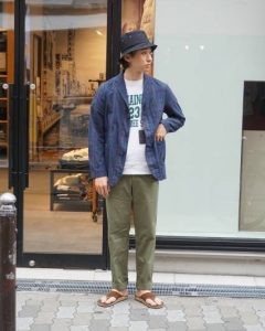 『BARRY BRICKEN』MILITARY CHINO PANTS MADE IN USA