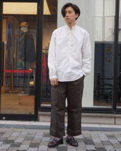 (ヤーモスオイルスキンズ) The Cambric Shirt  英国製